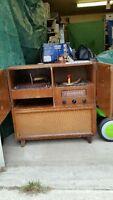 RCA Victor Radio Record Player Console