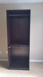 Ikea Pax Wardrobe - Black Brown