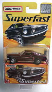 MATCHBOX SUPERFAST #52 DIE CAST FORD MUSTANG 428 MINT