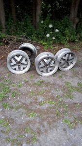 ford chrome rims set of 4