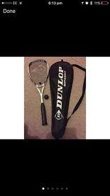 Dunlop Blackstorm Squash Racket