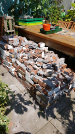 Free bricks for hardcore or rubble, approx 300
