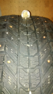 Snow Tires - on rims - Firestone Winterforce - 195/60/R15 - $300