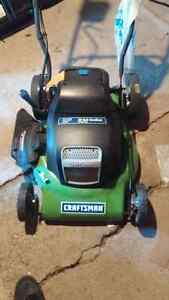 Craftsman battery powered lawnmower