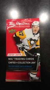 Cartes hockey Tim hortons 2018-2019