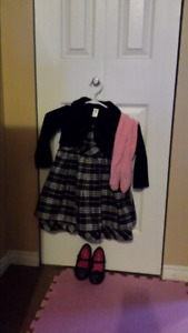 Toddler dress and shoes