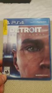 Detroit ps4 game