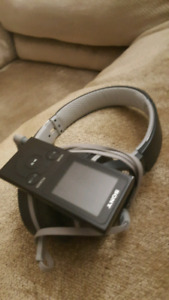 Sony Over Ear Headphones with MP3