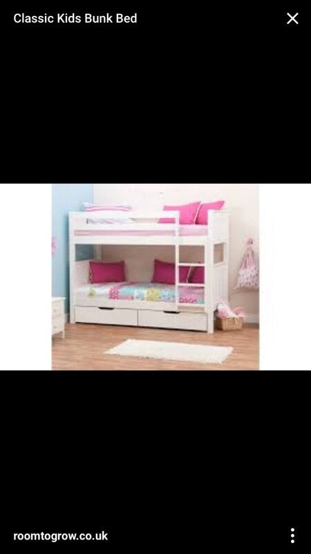 Stompa Classic Bunk Beds And Drawers In Newton Aycliffe County