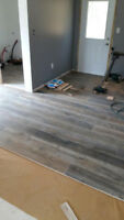 Flooring - installation - hardwood, laminate, tile and vinyl