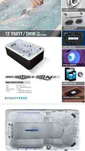 DYNASTY SPAS PARTY/SWIM SPA LED LIGHTS IN JETS STEREO Peterborough Peterborough Area image 2