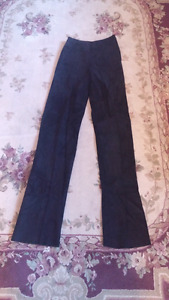 Danier leather and suede pants brand new