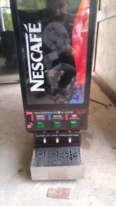 Nescafe hot beverage machine