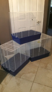 3 Lg New Used Bird Cages