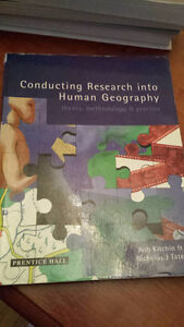 Conducting Research in Human Geography: theory, methodology and