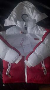 Vêtements enfants de qualité pour fille / garçon, manteaux hiver