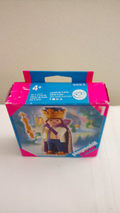 New in Box Retired Playmobil 4663 King