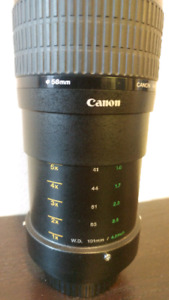 Canon 2.8 65mm MP-E Macro Lens