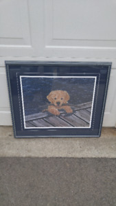 MARY CORDELL PRINT PUPPY DOG PICTURE
