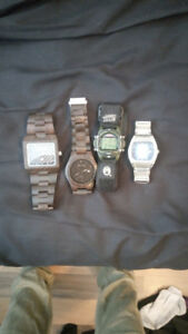 Four mens watches