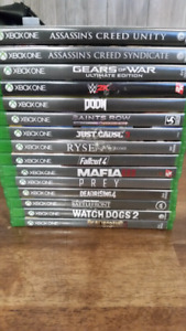 Xbox One Games  $10 and up