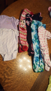 Lot of baby girl clothes NB to 6 months