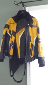 brp bombardier leather 2 pcs suit
