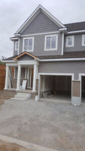 BRAND NEW House for Lease (3 bedroom, 2.5 washroom, Appliances)