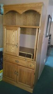 Palliser cabinet light in top drawer for DVD  and cds etc shelve