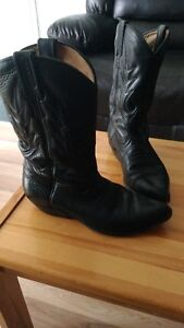 Bottes de cowboy pour femme - Boulet - grandeur 6½