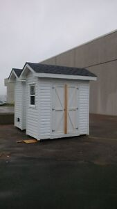 Two 4' x 8' Sheds
