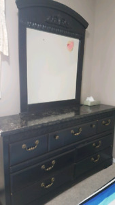 Beautiful dresser with mirror (moving sale)