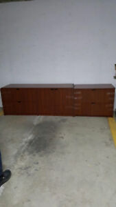 Wooden Filing Cabinets in Excellent Condition for Sale by Owner!
