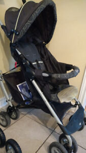 Graco Ergonomic Stroller in Lime Green & Black with new wheels