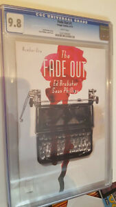 The Fade Out #1, CGC Graded 9.8, Great Image Comics Series