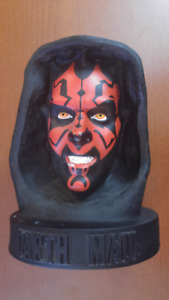 Darth Maul 12 in. Bust Piggy Bank! Coin Slot Fits Twoonies!