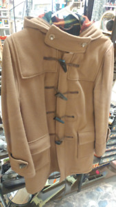 Vintage Original English Size 14 Duffle Coat by Gloverall