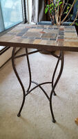 Small stone table