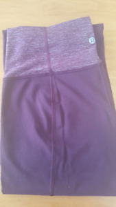 New lululemon groove pants size 8