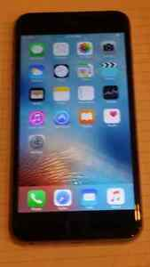 IPHONE  6 PLUS 16 GB  BELL/VIRGIN GREY $450