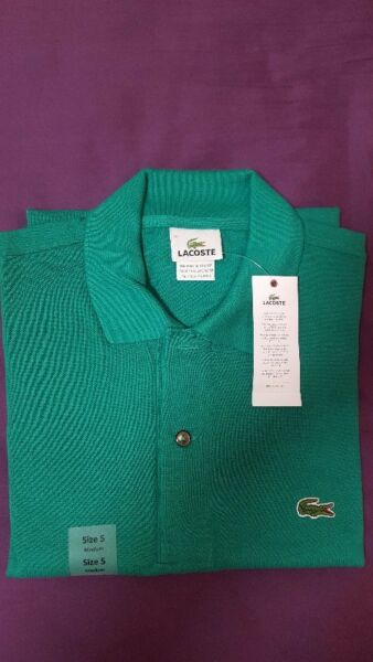 Brand New Lacoste Green Polo T Shirt