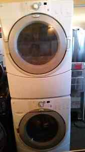 Fridge, stove, dishwasher, microwave and washer and dryer
