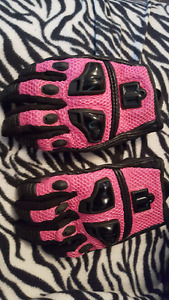 Icon women's motorcycle gloves