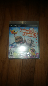 Little Big Planet 3, never opened, PS3