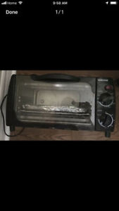 Toaster oven $ 5 only