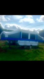 Selling a 2004 flagstaff tent trailer