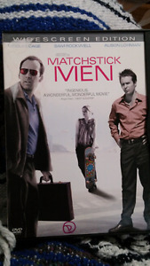 Matchstick men dvd