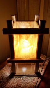 Stained Glass Shade Table Lamp - Brand New