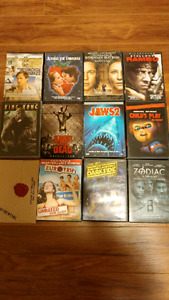 34 DVDs (Some TV Seasons)