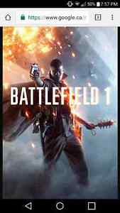 PS4 Battlefield 1  for trade London Ontario image 1
